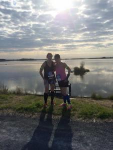 marathon michelle and Lauren